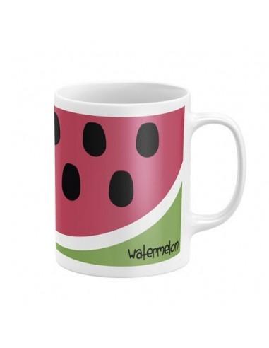 Taza ceramica en caja de Zaska Watermelon Sandia