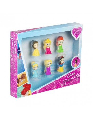 Set 6 Gomas Borrar 3D de Princesas Disney