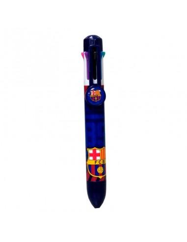 Bolígrafo 8 colores oficial del F.C Barcelona.