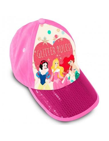 Gorra Princesas Disney premium lentejuelas