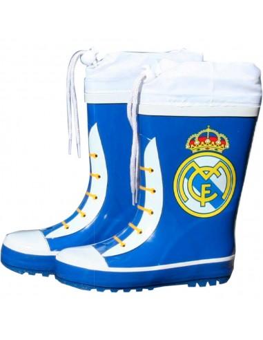 Botas agua azules cierre ajustable Real Madrid - Imagen 1