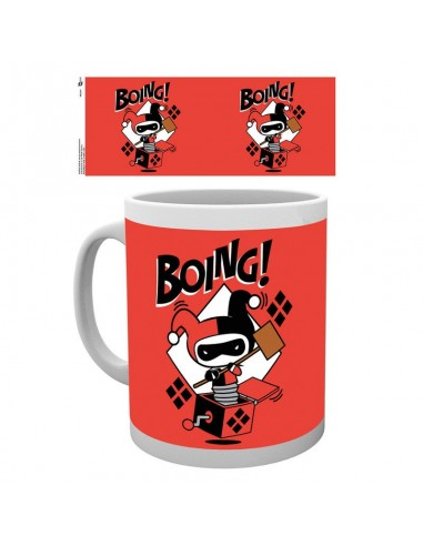 Taza Justice League Harley Quinn Boing Chibi DC - Imagen 1
