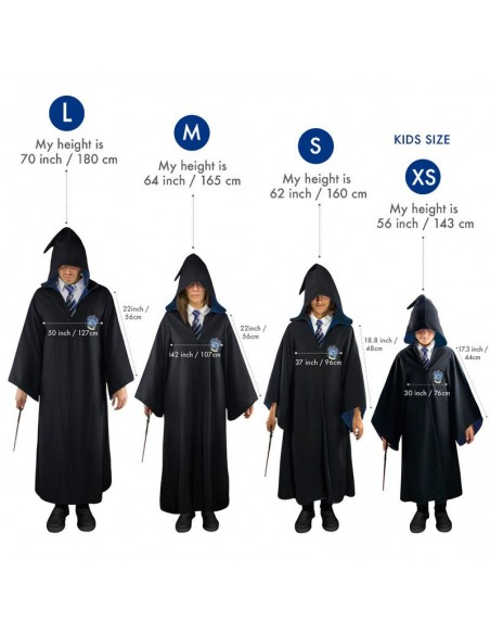 Tunica Ravenclaw Harry Potter - Imagen 2