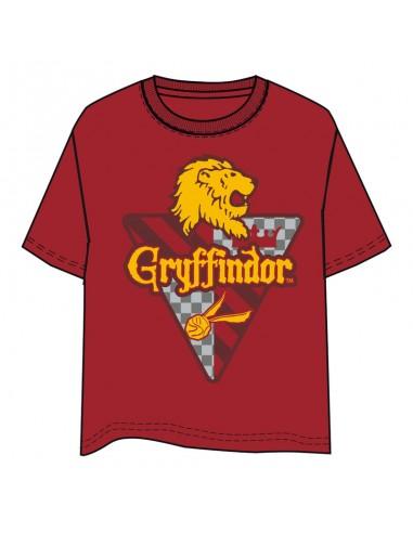 Camiseta Gryffindor Harry Potter adulto - Imagen 1