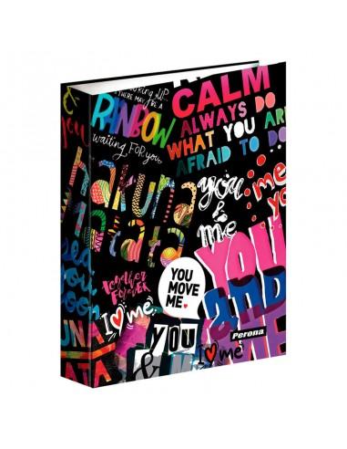 Carpeta A4 Perona You & Me anillas - Imagen 1