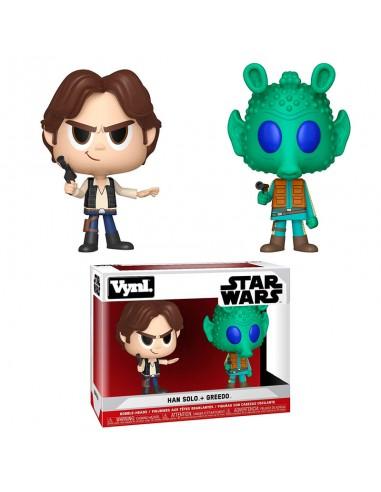 Figuras Funko Star Wars Han Solo y Greedo.