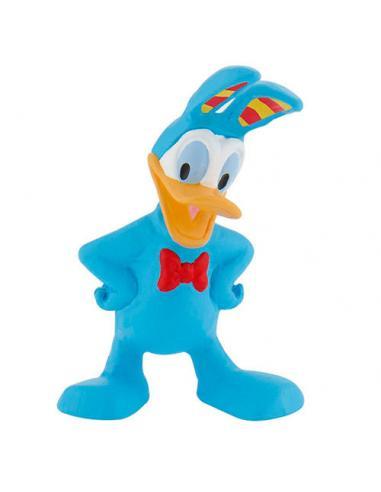 Figura Donald Disney disfraz conejo de Pascua