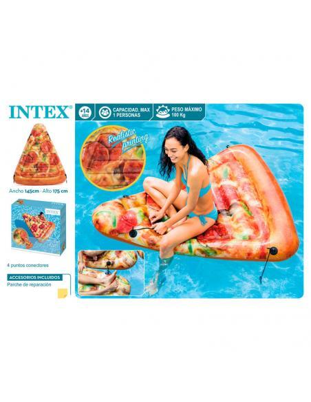Colchoneta Playa con forma de Pizza 2