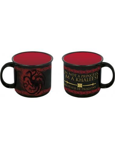 Taza ceramica desayuno 385ml para adulto de Juego De Tronos 'Dragons' (12/36) - Imagen 1