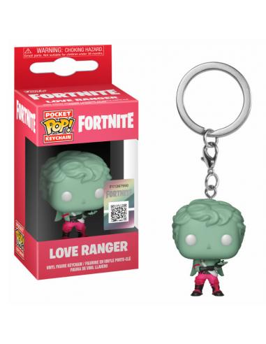 Llavero Funko POP Love Ranger de Fortnite.