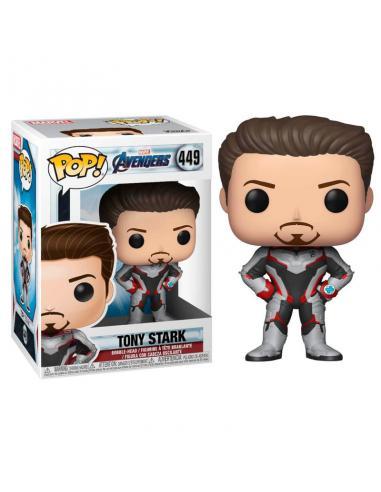 Figura POP Marvel Avengers Endgame Tony Stark - Imagen 1
