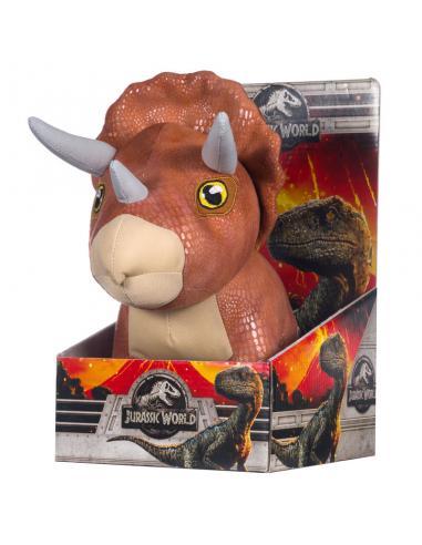 Peluche Dinosaurio Triceratops de Jurassic World