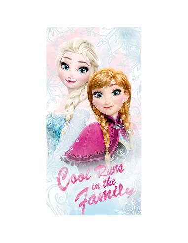Toalla Frozen Disney Cool Runs algodon - Imagen 1