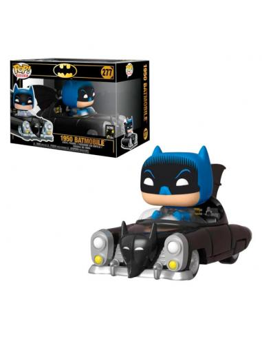 Figura Funko POP! Batman con Batmobile 80th de DC Comics