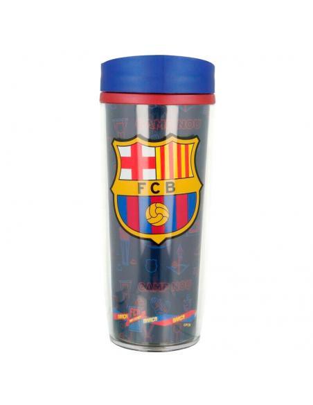 Vaso doble pared oficial del F.C. Barcelona