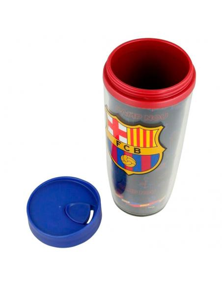 Vaso doble pared oficial del F.C. Barcelona 2