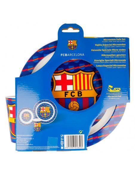 Set desayuno comida oficial del F.C. Barcelona  3