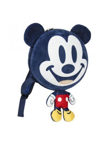 Mochila 3D de Peluche de Mickey Mouse Disney.