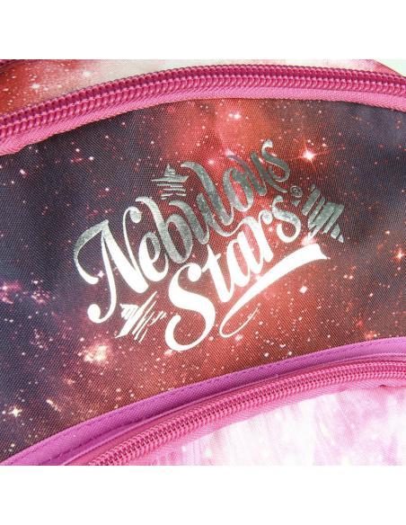 Mochila Nebulous Stars rojo 44cm - Imagen 3