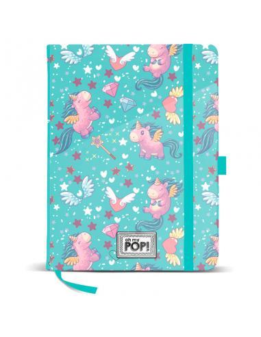 Diario Oh My Pop Unicorn Blue - Imagen 1