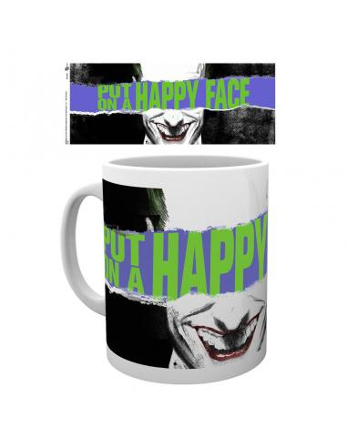 Taza Joker Happy Face DC Comics - Imagen 1