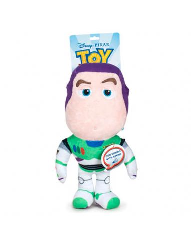 Peluche Buzz Lightyear Toy Story 4 Disney Pixar 30cm sonido - Imagen 1