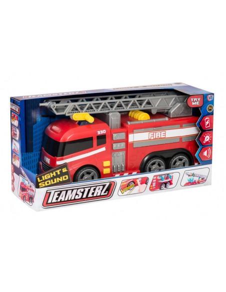 Camión de bomberos de Juguete con luz y sonidos de Teamsterz 2