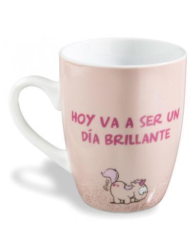 Taza Hoy Va a Ser Un dia Brillante Nici - Imagen 1