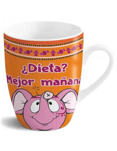 Taza ¿Dieta? ¡Mejor Mañana! Nici - Imagen 1