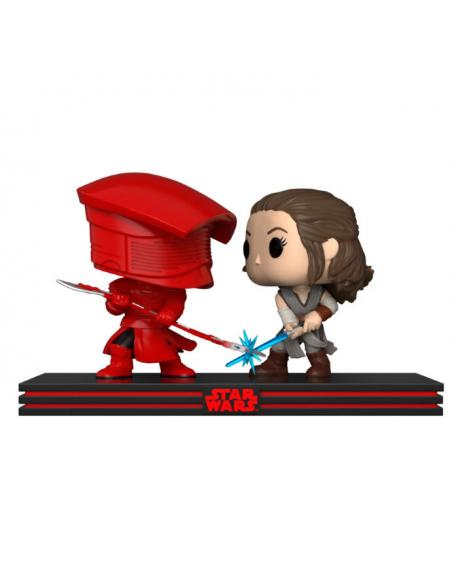 Set 2 figuras Funko POP! Rey + Guardia Pretoriana de Star Wars.