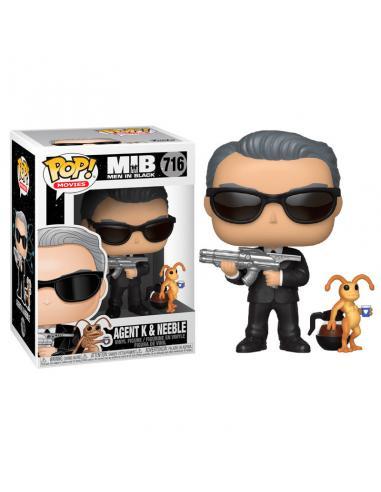 Figura Funko POP! Agent K con Neeble de Men In Black
