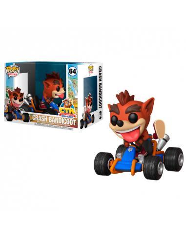 Figura Funko POP! Crash Bandicoot de Crash Team Racing.