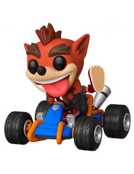 Figura Funko POP! Crash Bandicoot de Crash Team Racing. 2