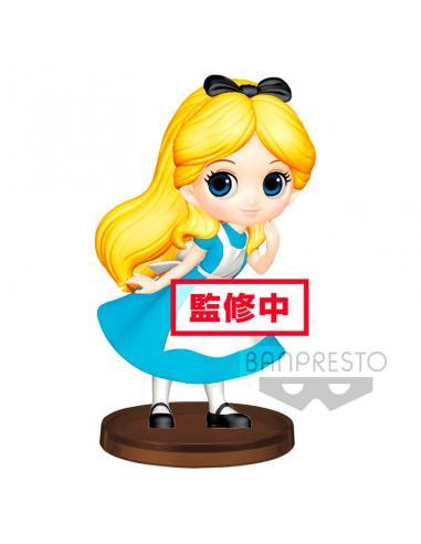Figura Alice in Wonderland  Disney Q Posket 7cm - Imagen 1