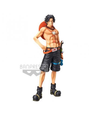 Figura Portgas D. Ace Grandista The Grandline Men One Piece 28cm - Imagen 1