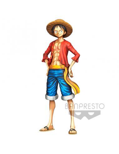 Figura Monkey D. Luffy Grandista Manga Dimensions One Piece 27cm - Imagen 1
