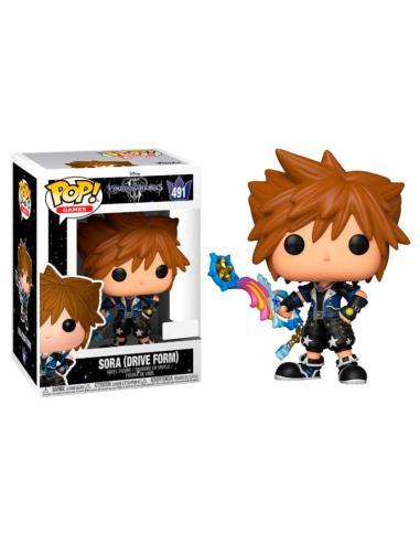 Figura POP Disney Kingdom Hearts 3 Sora Drive Form Exclusive - Imagen 1