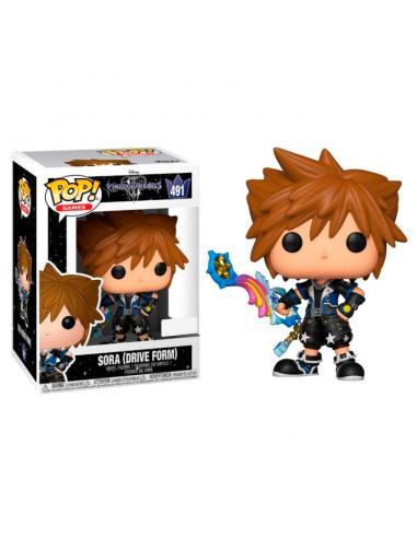 Figura POP Disney Kingdom Hearts 3 Sora Drive Form Exclusive - Imagen 1