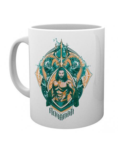 Taza Crest Aquaman DC Comics - Imagen 3