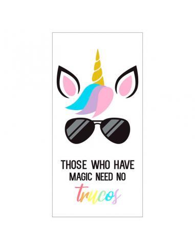 Toalla Those Who Have Magic Need No Trucos microfibra - Imagen 1