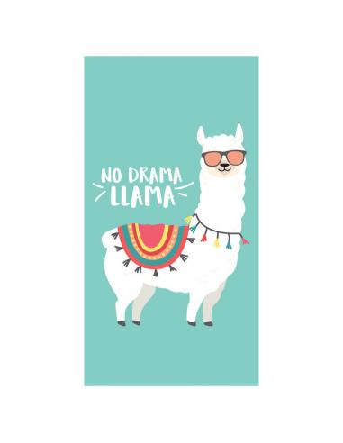 Toalla No Drama Llama microfibra - Imagen 1