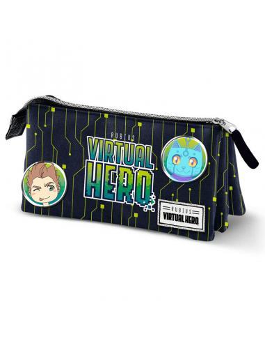Portatodo Virtual Hero Black triple - Imagen 1