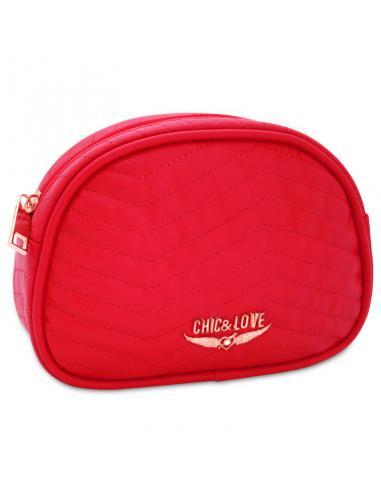 Neceser Chic & Love Red pequeño Swarovski - Imagen 1