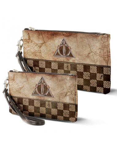 Set 2 portatodos Harry Potter Deathly Hallows - Imagen 1