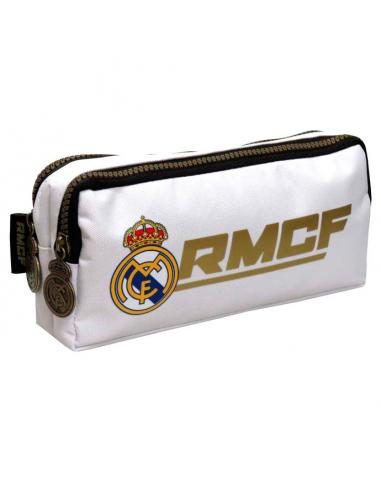 Estuche Portatodo Doble Oficial Real Madrid