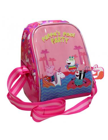 Bolsa portameriendas Peppa Pig Pool Party isotermica - Imagen 1