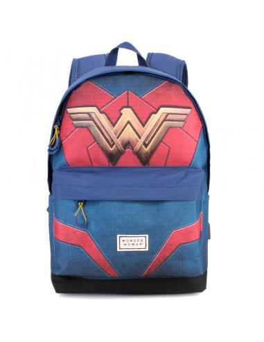 Mochila Wonder Woman DC Comics adaptable 42 cm.