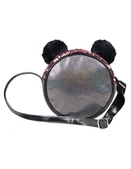 Bolso 3D Peluche y Lentejuelas de Mickey Mouse Disney. 2