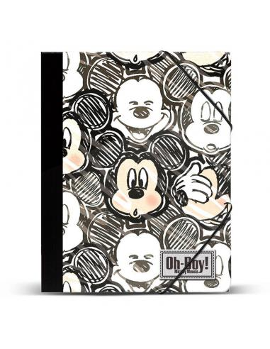 Carpeta A4 Mickey Disney Oh Boy gomas - Imagen 1