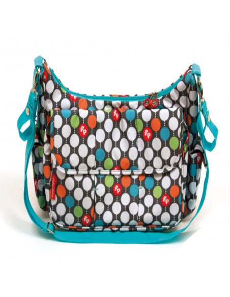 Fisher Price - Bolso Multicolor con cambiador - Regalos Infantiles